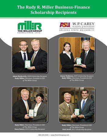 Past Rudy R. Miller Business – Finance Scholarship Recipients