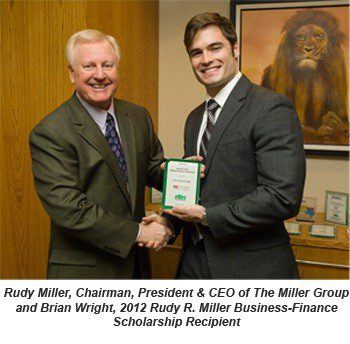 The Miller Group Awards Two 2012 Scholarships to ASU Students