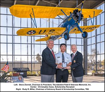 Thunderbird Field II Veterans Memorial, Inc. Launches 2020 Scholarship Program with Embry-Riddle Aeronautical University Student