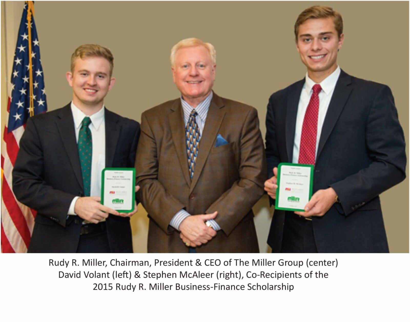 The Miller Group Announces Co-Recipients of the Eighth Annual Rudy R. Miller Business – Finance Scholarship to Arizona State University Students
