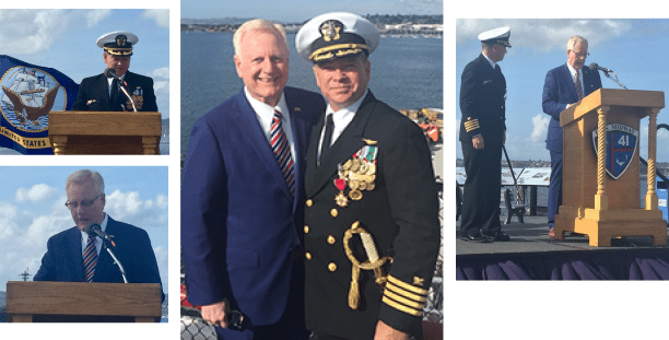 U.S. Navy Relinquishment Of Command & Retirement Ceremony For Nr Navsup Fleet Logistics Center, San Diego Aboard The Uss Midway Museum