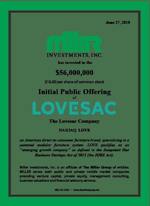 LOVE IPO