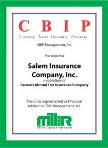 Customer Based Insurance Programs, Inc.