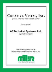 Creative Vistas, Inc.