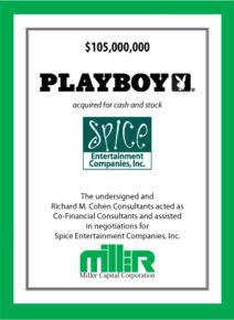 Playboy / Spice Entertainment Companies, Inc.