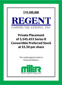 Regent Communications, Inc.