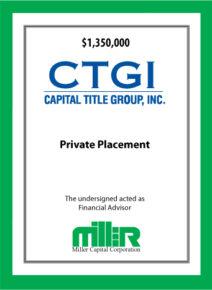Capital Title Group, Inc.